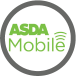 Logo for Asda Mobile, one of the Mobile Top-Up Networks for Mobile Top-Up & International Calling Card Solutions avaiable from 3R Telecom