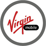 Logo for Virgin Mobile, one of the Mobile Top-Up Networks for Mobile Top-Up & International Calling Card Solutions avaiable from 3R Telecom